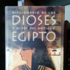 Libros: DIOSES Y MITOS DEL ANTIGUO EGIPTO.. Lote 184424253