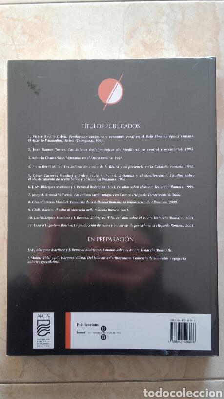Libros: La producción de conservas y salsas de pescado en la hispania romana. - Foto 2 - 193566513