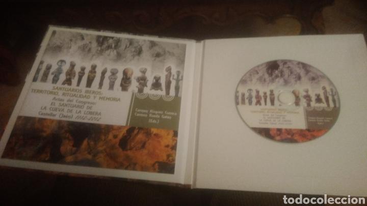 Libros: SANTUARIOS IBEROS. CUEVA DE LA LOBERA. CASTELLAR( JAEN). A ESTRENAR. LIBRITO Y CD. VER FOTOS.AGOTADO - Foto 2 - 193767876