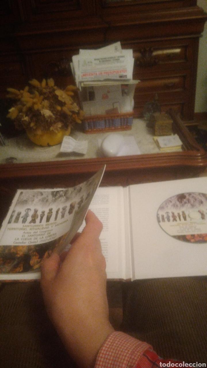 Libros: SANTUARIOS IBEROS. CUEVA DE LA LOBERA. CASTELLAR( JAEN). A ESTRENAR. LIBRITO Y CD. VER FOTOS.AGOTADO - Foto 4 - 193767876