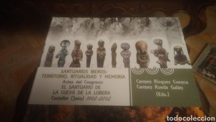 SANTUARIOS IBEROS. CUEVA DE LA LOBERA. CASTELLAR( JAEN). A ESTRENAR. LIBRITO Y CD. VER FOTOS.AGOTADO (Libros Nuevos - Historia - Arqueología)