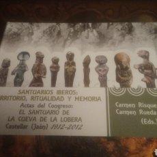 Libros: SANTUARIOS IBEROS. CUEVA DE LA LOBERA. CASTELLAR( JAEN). A ESTRENAR. LIBRITO Y CD. VER FOTOS.AGOTADO. Lote 193767876