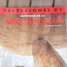 Libros: MISTERIOS DE LA ARQUEOLOGÍA. N°4. Lote 199697936