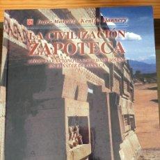 Libros: LA CIVILIZACIÓN ZAPOTECA. Lote 199735948