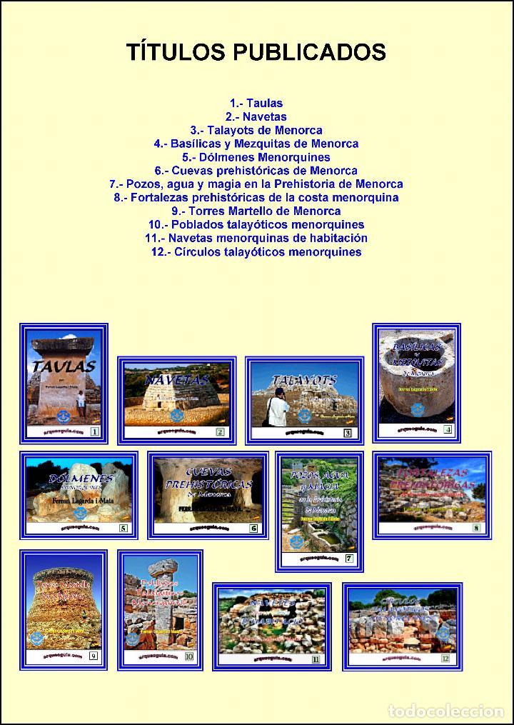 (12 TOMOS) LA COLECCIÓN O ENCICLOPEDIA ARQUEOGUIA (MENORCA) COMPLETA. (Libros Nuevos - Historia - Arqueología)
