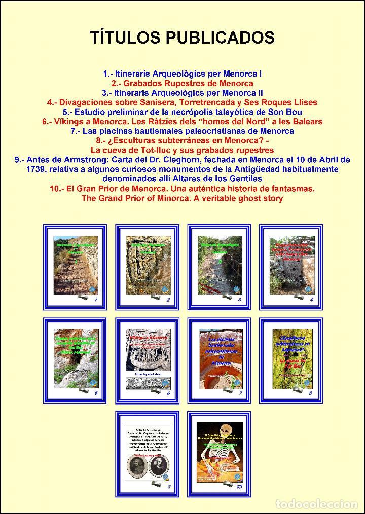 (10 VOLÚMENES) LA COLECCIÓN MINOR (SOBRE MENORCA) COMPLETA (PEQUEÑA ENCICLOPEDIA). (Libros Nuevos - Historia - Arqueología)