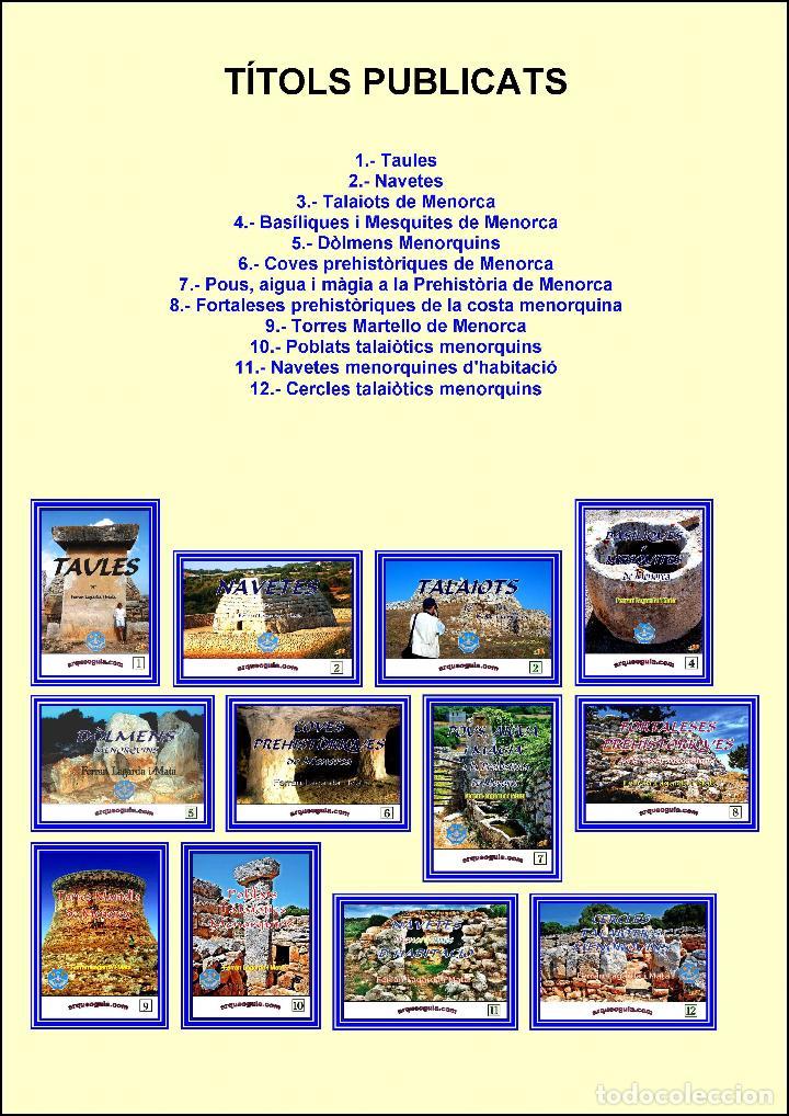 (11 VOLÚMENES). COLECCIÓN O ENCICLOPEDIA ARQUEOGUIA (MENORCA) EN CATALÁN (FALTA EL Nº 1). (Libros Nuevos - Historia - Arqueología)