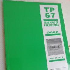 Libros: TRABAJOS DEPREHISTORIA 2000. Lote 208055216