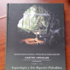 Libros: INTERVENCIONES ARQUEOLÓGICAS EN CASTRO URDIALES. Lote 208065097