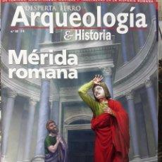 Libri: DOS O MÁS REVISTAS, ENVIO GRATIS.DESPERTA FERRO ARQUEOLOGÍA E HISTORIA N.32. MÉRIDA ROMANA. Lote 266321838