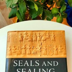 Libros: SEALS AND SEALING IN THE ANCIENT WORLD, 2019. Y. THE ICONOGRAPHY OF CYLINDER SEALS, 2006.. Lote 216827570