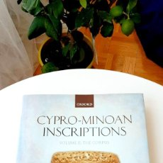 Libros: CYPRO-MINOAN INSCRIPTIONS: VOLUME I (ANALYSIS) 2012 (2014). Y. VOLUME II (THE CORPUS) 2013. FERRARA.. Lote 216841388