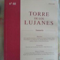 Libros: TORRE DE LOS LUJANES, SITIO DE LA REAL SOCIEDAD ECONÓMICA DE LOS AMIGOS DEL PAÍS. Lote 219323422