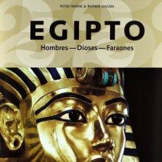 Livres: EGIPTO (PRECINTADO) LIBRO - TASCHEN TAPA DURA 2005 - ARTE HISTORIA HOMBRES DIOSES FARAONES PIRAMIDES. Lote 219918685
