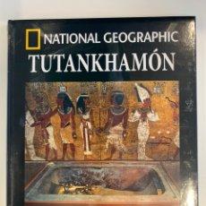 Libros: HISTORIA NATIONAL GEOGRAPHIC ARQUEOLOGÍA TUTANKHAMON VOL. 13 NUEVO. Lote 221079160
