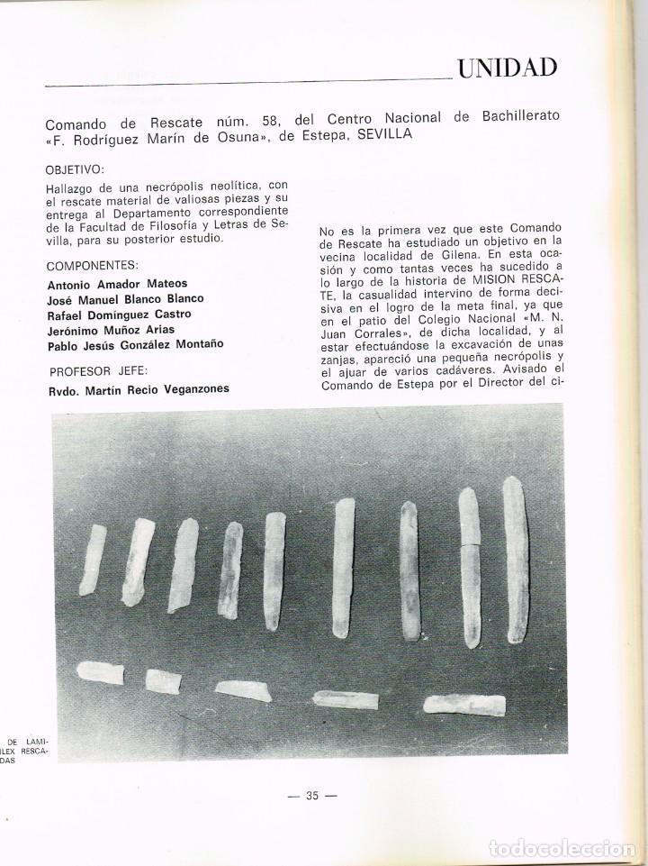 Libros: 1980 Campaña XIII 1798 1979 RTVE Misión Rescate - Lista Grupos Ganadores... Hallazgos Arqueológicos - Foto 6 - 223763722
