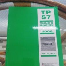 Libros: TRABAJOS DE PREHISTORIA AÑO 2000 DEL CSIC. Lote 224592256