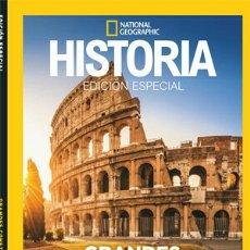 Libros: GRANDES CONSTRUCCIONES ROMANAS 3D HISTORIA NATIONAL GEOGRAPHIC. Lote 227825610