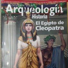 Libros: DOS O MAS REVISTAS, ENVÍO GRATIS. DESPERTA FERRO ARQUEOLOGÍA E HISTORIA N.34 EL EGIPTO DE CLEOPATRA. Lote 266288973