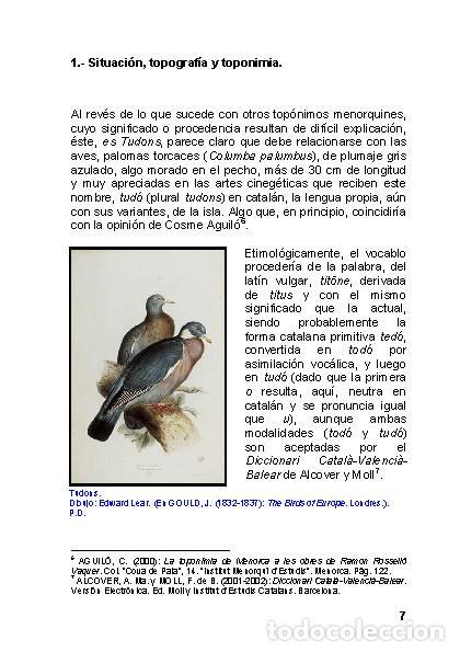 Libros: La Naveta des Tudons (Ciutadella de Menorca) - LAGARDA MATA, FERRAN - ARQUEOLOGIA ARTE - Foto 6 - 27239457