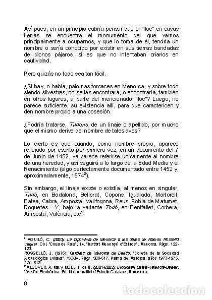 Libros: La Naveta des Tudons (Ciutadella de Menorca) - LAGARDA MATA, FERRAN - ARQUEOLOGIA ARTE - Foto 7 - 27239457