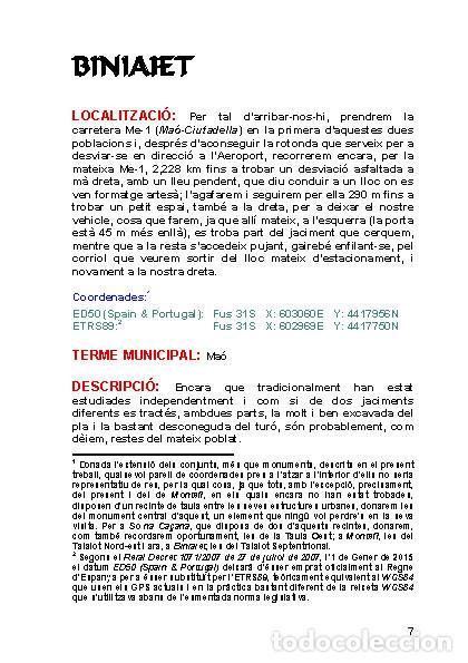 Libros: Poblats talaiòtics menorquins. (LAGARDA) - Foto 3 - 36793853