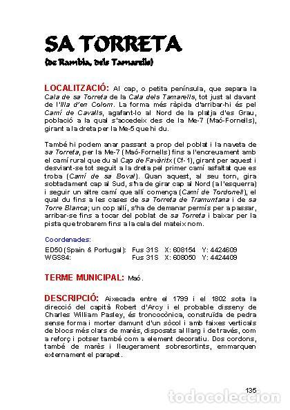Libros: Torres Martello de Menorca (Versión catalana) (Ferran Lagarda Mata) - Foto 3 - 118803175