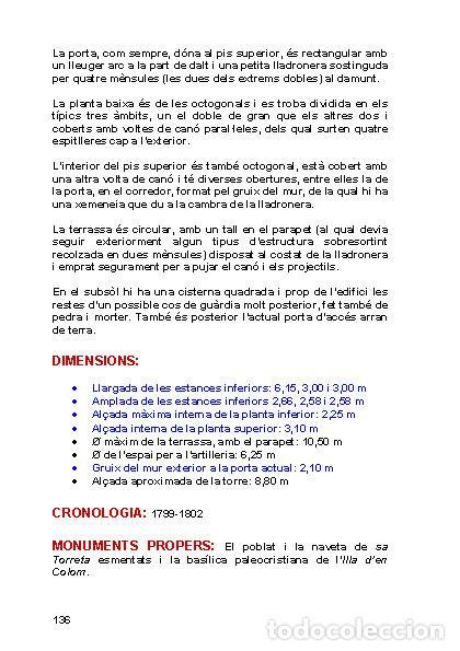 Libros: Torres Martello de Menorca (Versión catalana) (Ferran Lagarda Mata) - Foto 4 - 118803175
