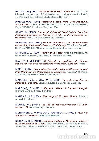 Libros: Torres Martello de Menorca (Versión catalana) (Ferran Lagarda Mata) - Foto 11 - 118803175