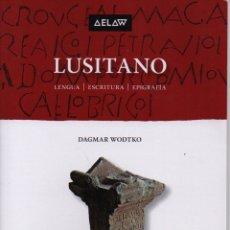 Libros: LUSITANO LENGUA, ESCRITURA, EPIGRAFÍA. Lote 235599970