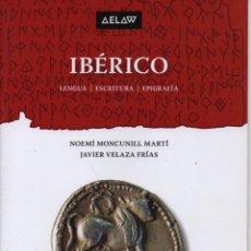 Libros: IBÉRICO LENGUA, ESCRITURA, EPIGRAFÍA. Lote 235600160