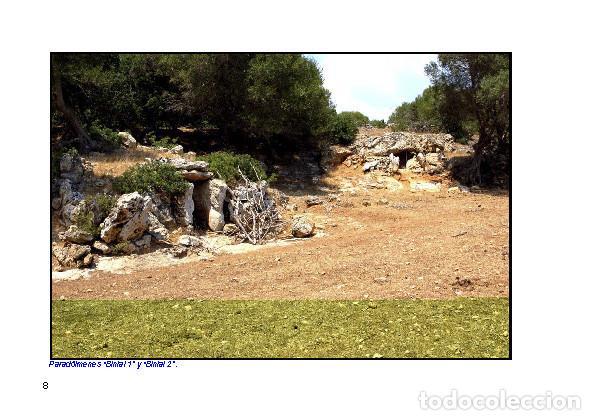 Libros: LAGARDA MATA, Ferran (2007): Dólmenes menorquines (Arqueología Arte Historia Menorca) - Foto 7 - 191867523
