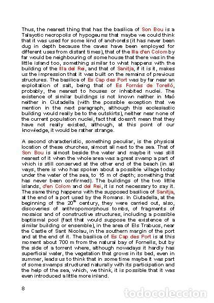 Libros: LAGARDA MATA, Ferran (2008): Basilicas and mosques of Minorca (Archaeology-Art-History) - Foto 7 - 195088208