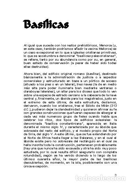 Libros: LAGARDA MATA, Ferran (2007): Basílicas y mezquitas de Menorca (Arqueología Arte Historia) - Foto 2 - 27209530