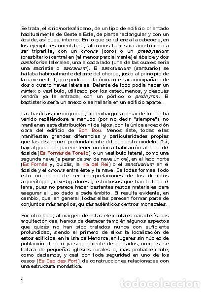 Libros: LAGARDA MATA, Ferran (2007): Basílicas y mezquitas de Menorca (Arqueología Arte Historia) - Foto 3 - 27209530