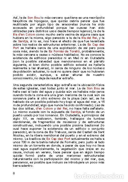 Libros: LAGARDA MATA, Ferran (2007): Basílicas y mezquitas de Menorca (Arqueología Arte Historia) - Foto 7 - 27209530
