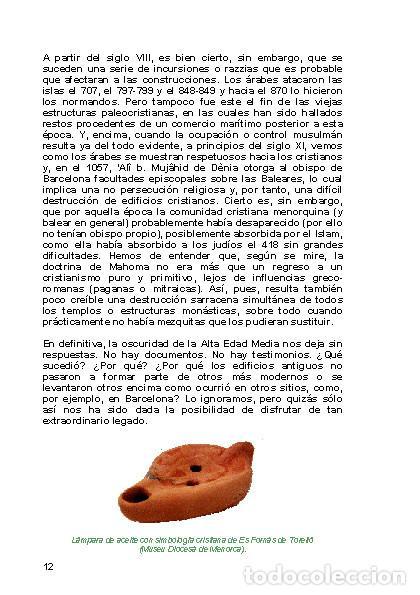 Libros: LAGARDA MATA, Ferran (2007): Basílicas y mezquitas de Menorca (Arqueología Arte Historia) - Foto 11 - 27209530