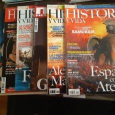 Libros: HISTORIA 10 REVISTAS GRECIA (DOSIER PRINCIPAL). Lote 239763360