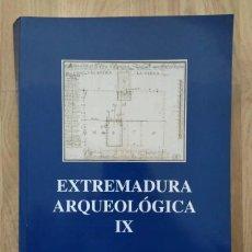 Libros: EXTREMADURA ARQUEOLÓGICA IX. Lote 241545215