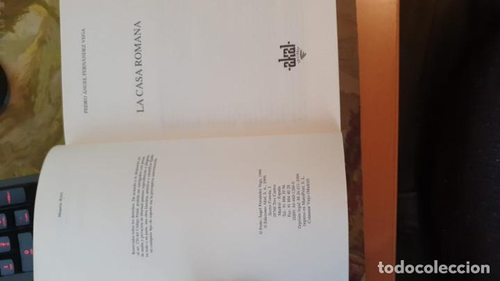Libros: La casa romana - Pedro Ángel Fernández Vega - Foto 4 - 243237870