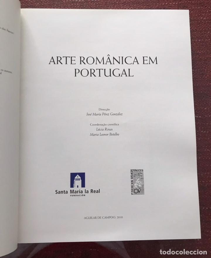 Libros: Libro Arte Románico en Portugal. Completo. En 1 solo tomo. Gran formato - Foto 3 - 245580230