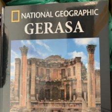 Livros: COLECCIÓN ARQUEOLOGÍA NATIONAL GEOGRAPHIC GERASA. Lote 250315395
