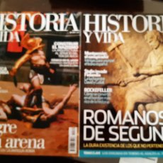 Libros: 8 REVISTAS HISTORIA Y VIDA NÚMEROS 430-438-439-441-444-445-479-540. Lote 251631585