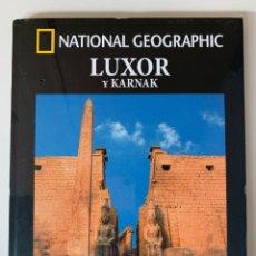Livros: ARQUEOLOGÍA NATIONAL GEOGRAPHIC LUXOR Y KARNAK. Lote 253485460