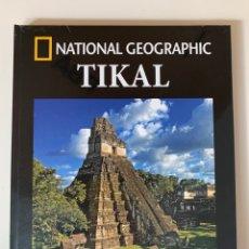 Livros: ARQUEOLOGÍA NATIONAL GEOGRAPHIC TIKAL. Lote 253485750