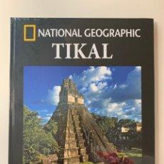 Libros: COLECCIÓN ARQUEOLOGÍA NATIONAL GEOGRAPHIC- TIKAL. Lote 254892505