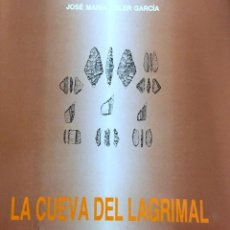 Libros: VILLENA - LA CUEVA DEL LAGRIMAL, POR JOSÉ MARÍA SOLER GARCÍA. Lote 255332020