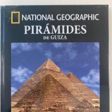 Livros: ARQUEOLOGÍA NATIONAL GEOGRAPHIC PIRÁMIDES GUIZA. Lote 257649585