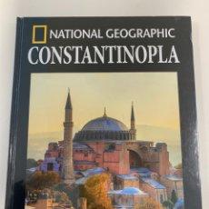 Livros: ARQUEOLOGÍA NATIONAL GEOGRAPHIC- CONSTANTINOPLA. Lote 258220520