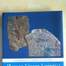 Libros: AEGEAN LINEAR SCRIPT(S), 2020. AEGEAN BRONZE AGE ART, 2020.. Lote 267279029